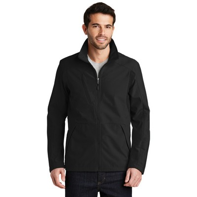 Port Authority® Back Block Soft Shell Jacket