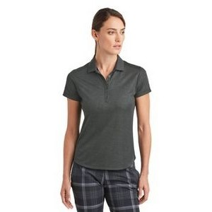 Nike Golf Ladies Dri-FIT Crosshatch Polo Shirt