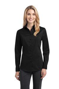 Port Authority Ladies Stretch Poplin Shirt