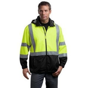 Cornerstone® ANSI 107 Class 3 Safety Windbreaker Jacket