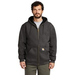 Carhartt® Rain Defender® Rutland Thermal-Lined Hooded Zip-Front Sweatshirt