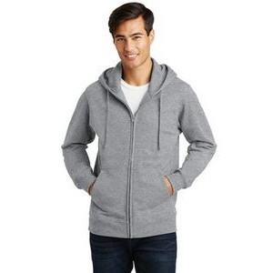 Port & Company® Men's Fan Favorite™ Fleece Full-Zip Hooded Sweatshirt