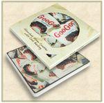 Custom Square Absorbent Stone Coaster- Custom Printed - Packaged in Single Window Box