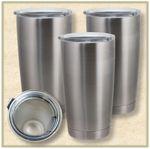 Custom 20 Oz. Stainless Steel Tumblers (Blank)