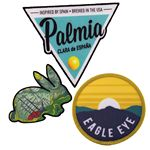 Custom Full Color Sublimated Patches (3