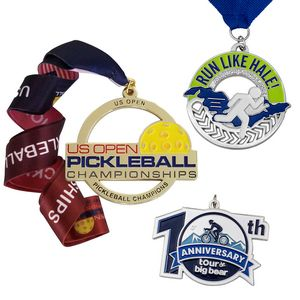Die Cast Medals or Charms (1 1/4)