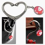 Custom Heart Swivel Purse Hanger