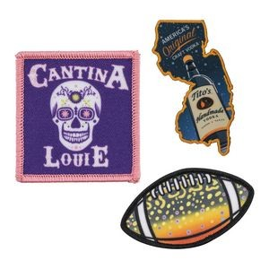 "Custom Full Color Sublimated Patches (2"")"
