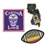 Custom Full Color Sublimated Patches (2