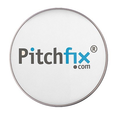 PitchFix Custom Golf Ball Marker w/Full Color Imprint