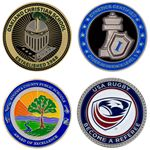 Custom Die Struck Challenge Coin (1 1/2
