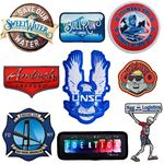 Custom PinPointe(tm) Full Color Patches (2