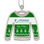 Custom Ugly Sweater Christmas Holiday Ornament
