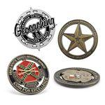 Custom Die Cast Zinc Challenge Coin (2