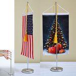 Custom Table Flag Vertical Pennant Flag with Double Sided Print