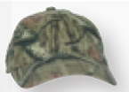 Custom Woodsman Cotton Camo Cap