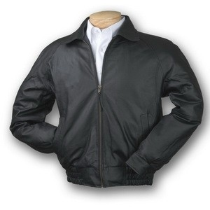 Men's Napa Classic Leather Jacket (Black)