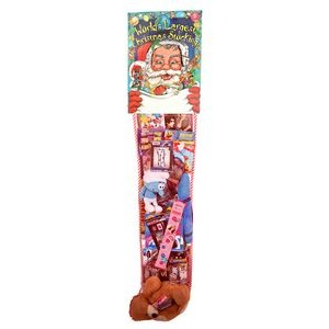 The World's Largest 8' Promotional Hanging Christmas Stocking - Standard