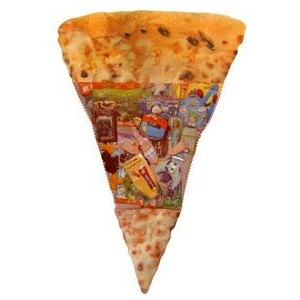 5' Tall Giant Pizza Shape Toy-Filled In-Store Sweepstakes