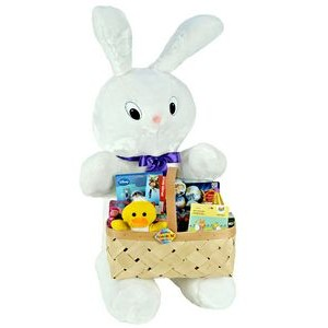 Baxter the Bunny w/Toy Filled Easter Basket