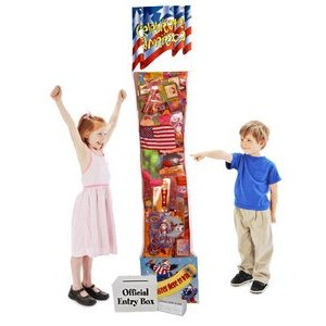 The World's Largest 8' Promotional Hanging Firecracker - Deluxe
