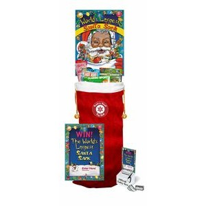 Giant 4' Tall Toy Filled Santa Sack