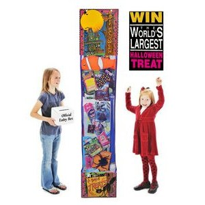 6' Halloween Giant Toy Filled Hanging Treat - Standard