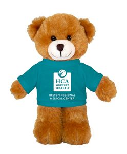 Soft Plush Mocha (Brown) Bear with Tee 8