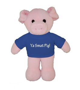 Soft Plush Pig in Tee 8