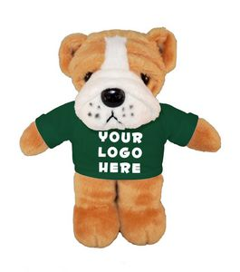 Soft Plush Bulldog with Tee 8