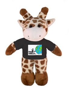 Soft Plush Giraffe with Tee 8