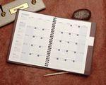 Custom Monthly Desk Planner