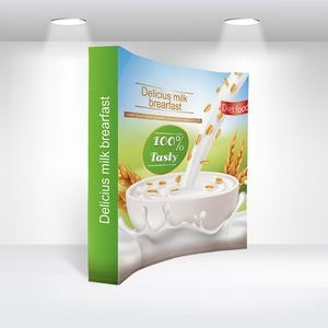 "8' Traditional Pop Up Fabric Backdrop (96""x89"")"