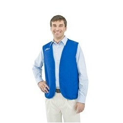 Non-Button Twill 2 Pocket Vest (S-XL)