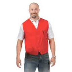 2 Pocket Unisex Button Twill Vest (XS-XL)