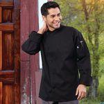 Custom Color Angled Closure Poly Cotton Twill Chef Coat (4XL-6XL)