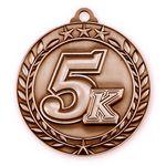 Custom 1 3/4'' 5k Medal (B)