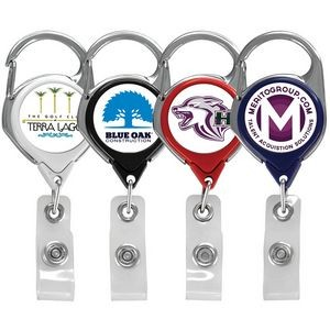 Express Vibraprint™ Carabiner Badge Reel