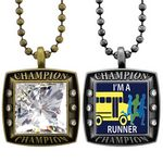 Custom Express Vibraprint Championship Antique Charms