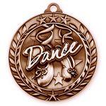 Custom 1 3/4'' Dance Medal (B)