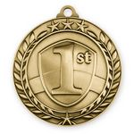 Custom 1 3/4'' 1st Place Medal (G)