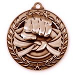 Custom 1 3/4'' Martial Arts Medal (B)