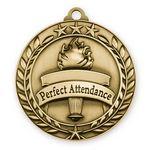 Custom 1 3/4'' Perfect Attendance Med