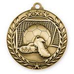 Custom 1 3/4'' Soccer Medal (G)