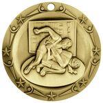 Custom 3'' World Class Wrestling Medallion (G)