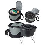 Custom Portable BBQ Grill & Cooler