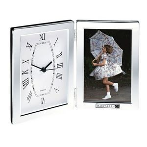Jadis I Desk Clock & Photo Frame