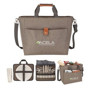 Del Mar Picnic Set & Cooler Tote