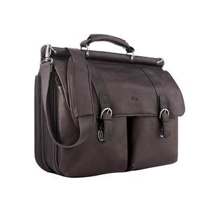 Solo Warren Leather Briefcase