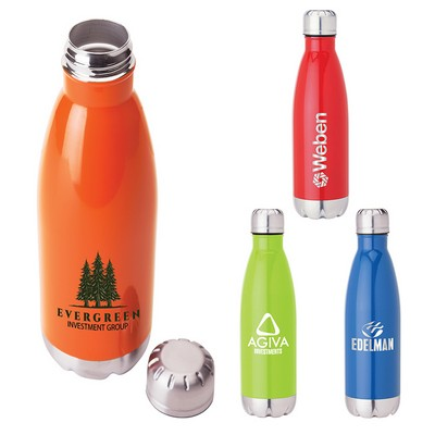 17 Oz. Stainless Steel Vacuum Bottle